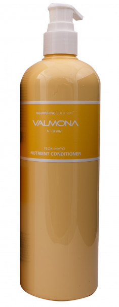 EVAS Кондиционер для волос Питание / VALMONA Nourishing Solution Yolk-Mayo Nutrient Conditioner 480 мл