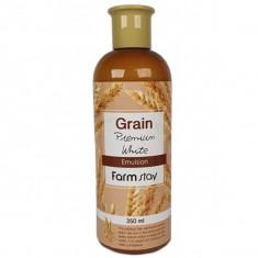 выравнивающая эмульсия с экстрактом ростков пшеницы farmstay grain premium white emulsion