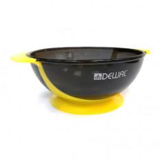 Dewal, Чаша с двумя ручками и прорезиненной вставкой, желтая, 300 мл