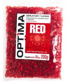 DEPILTOUCH PROFESSIONAL Воск пленочный в гранулах, с маслом нероли / OPTIMA RED 200 г