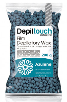 DEPILTOUCH PROFESSIONAL Воск пленочный в гранулах, азулен 200 г