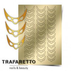Trafaretto, Металлизированные наклейки CL-07, золото