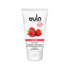WULA Nailsoul, Йогуртовый крем для рук «Малина», 75 мл