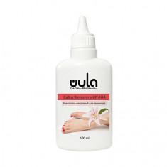 WULA Nailsoul, Кератогель с AHA-кислотами для педикюра Remover, 100 мл