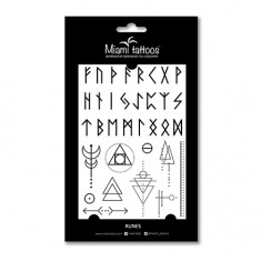Miami Tattoos, Переводные тату Runes