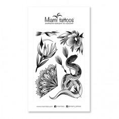 Miami Tattoos, Переводные тату Silk by Stickandbones