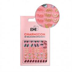 E.Mi, 3D-стикеры Charmicon №127 «Листья и фрукты»