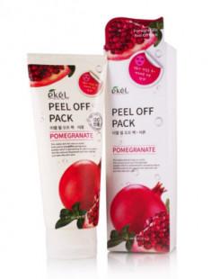 Маска-пленка с экстрактом граната Ekel Peel Off Pack Pomegranate 180 мл
