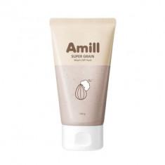 Глиняная маска с зерновыми экстрактами AMILL Super Grain Wash-Off Pack 100мл