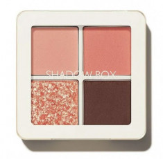 Тени 4-хцветные THE SAEM Saemmul Shadow Box 03 Peach Day 3,6г