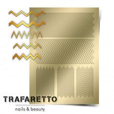 Trafaretto, Металлизированные наклейки GM-06, золото
