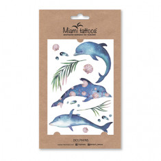 Miami Tattoos, Переводные тату Dolphins
