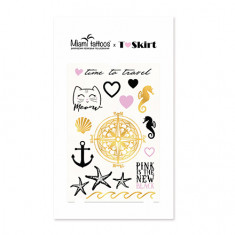 Miami Tattoos, Переводные татуировки T-Skirt