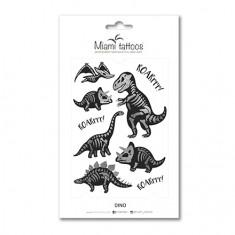 Miami Tattoos, Переводные татуировки Dino
