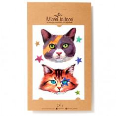 Miami Tattoos, Переводные татуировки Cats