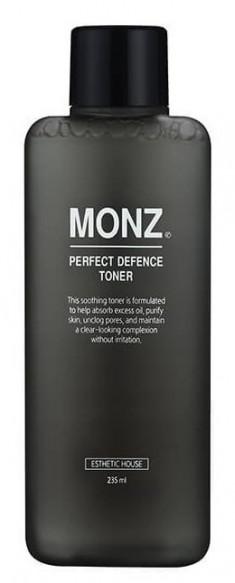 ESTHETIC HOUSE Тонер мужской для лица / MONZ PERFECT DEFENCE TONER 235 мл