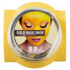 Альгинатная маска c коллоидным золотом (пудра+активатор) Lindsay Gold Rubber Mask (65г+6,5г)*2