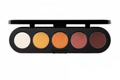 Тени прессованные палитра 5 цветов Т31 натуральные тона 10 г Make-Up Atelier Paris