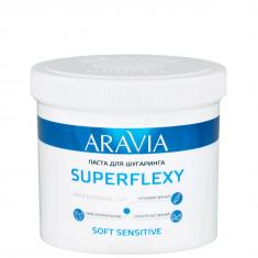 Aravia professional, superflexy soft sensitive паста для шугаринга, 750 г