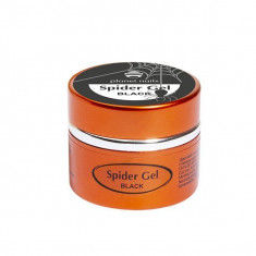 Planet nails, spider gel, гель-паутинка, черная, 5 г