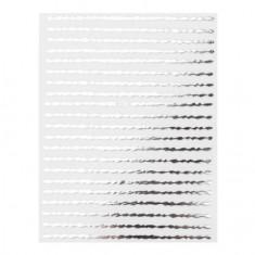 Monami Professional, Наклейки «Волна», серебро