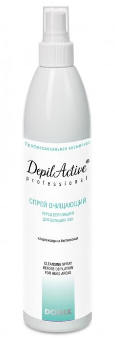 DOMIX Спрей очищающий перед депиляцией с хлоргексидином, для больших зон / DAP 260 мл DOMIX GREEN PROFESSIONAL