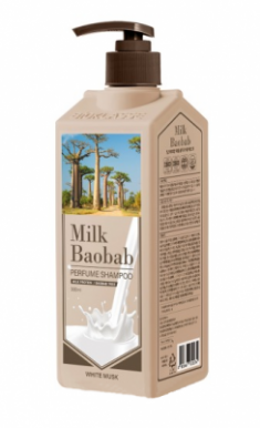 Шампунь с ароматом белого мускуса Milk Baobab Perfume Shampoo White Musk 500мл