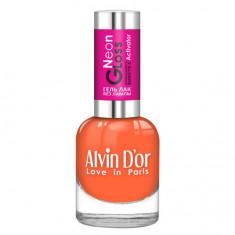 Alvin D'or, Лак-гель Neon Gloss №05