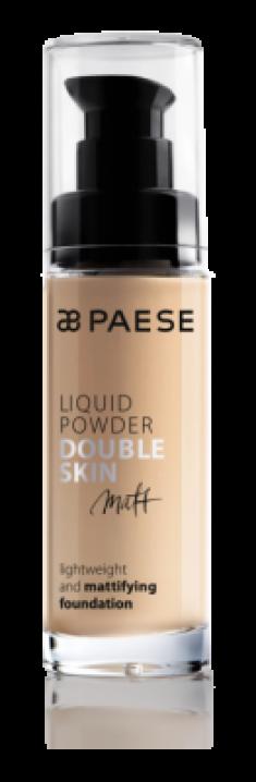 Тональный крем для жирной и комбинированной кожи Paese Matt Liquid Powder Double Skin тон 40М