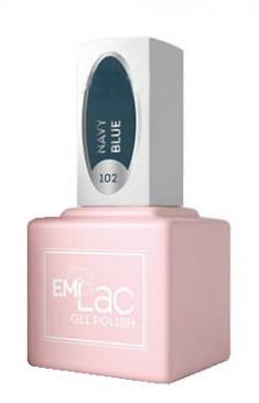 E.MI 102 SCO гель-лак для ногтей, Нэви Блю / E.MiLac 6 мл