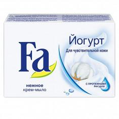 Fa Мыло Кусковое YOGHURT для чувствительной кожи 90г