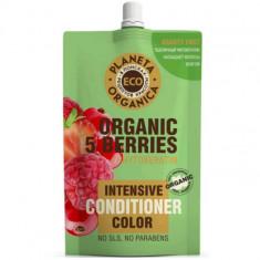Планета органика ECO бальзам для яркости цвета волос 5 ягод 200мл Planeta Organica