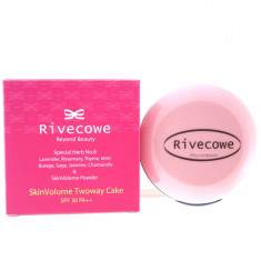 Rivecowe Beyond Beauty Пудра для лица SkinVolume Twoway Cake SPF 30 РА++ (23), средний бежевый 12 г