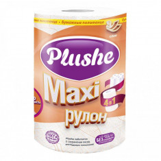 Plushe бумажные полотенца MAXI 2сл 1 рул 40м