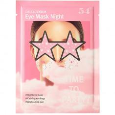 Dr.Gloderm Ночная глиттерная маска для глаз 1 шт.