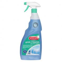 Unicum Средство для мытья для стекол пластика и зеркал 500мл