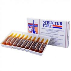 Dikson Structur Fort Ампульное средство для восстановления безжизненных, ослабленных волос 10*12мл