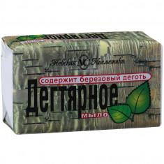 Невская косметика Мыло туалетное Дегтярное 140г НЕВСКАЯ КОСМЕТИКА