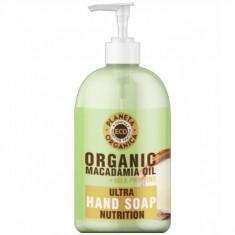 Планета органика ECO питательное мыло для рук масло макадамии 300мл Planeta Organica