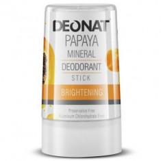DeoNat Дезодорант кристалл с экстрактом папайи 40г