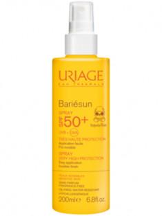 Урьяж/Uriage Барьесан SPF50+ Солнцезащитный спрей для детей 200 мл
