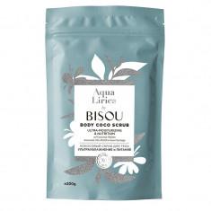 Bisou АкваЛирика Скраб для тела кокосовый Ультраувлажнение и питание 200мл