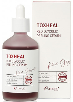 ESTHETIC HOUSE Пилинг-сыворотка гликолевая / Toxheal Red Glyucolic Peeling Serum 100 мл