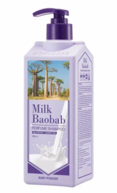 Шампунь для волос с ароматом детской присыпки Milk Baobab Perfume Shampoo Baby Powder 500 мл