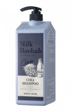 Шампунь с керамидами для волос, с ароматом белого мускуса MILK BAOBAB Cera Shampoo White Musk 1200 мл
