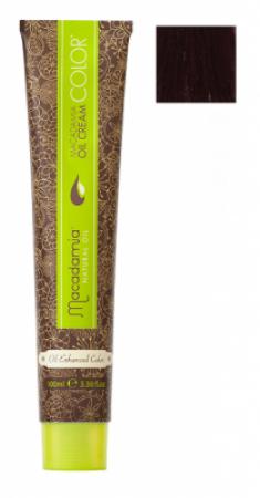Краска для волос Macadamia Oil Cream Color 7.55 ЯРКИЙ КРАСНОЕ ДЕРЕВО СРЕДНИЙ БЛОНДИН 100мл