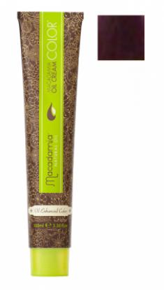 Краска для волос Macadamia Oil Cream Color V ФИОЛЕТОВЫЙ 100мл