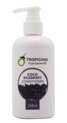 Кондиционер для волос КРАСНЫЙ РИС TROPICANA Coco Riceberry 250мл