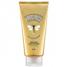 очищающая пенка с мёдом и золотом vt cosmetics progloss foam cleanser