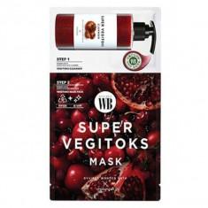 2-х ступенчатая детокс-система wonder bath super vegitoks mask